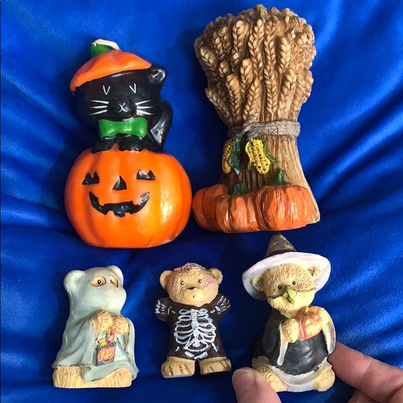 Halloween Trick or Treaters Vintage Candles